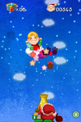 Screenshot Crazy Santa